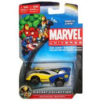 Wolverine Auto Superhéroes Marvel Maisto 1/64 Metal Juguete