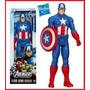Muñeco Capitan America Hasbro Marvel - Original 30 Cm