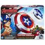 Escudo De Ataque Con Lanzador Capitán América-giro Didáctico