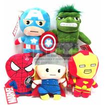 Peluches Avengers Vegandores Originales 23cm Precio X Los 5