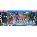 Muñecos Vengadores Avengers Set X5 Articulados 17cm Luz 2014