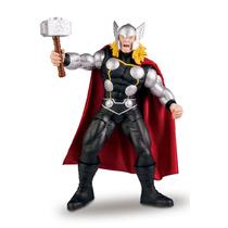 Muñeco Semi Articulado Grande Thor Marvel Original