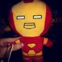 Peluche Iron Man 30 Cm Super Heroe Para Regalar Marvel