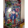 Muñeco Capitan America Con Escudo Cierre De Jugueteria