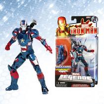 Iron Man 3 Iron Patriot James Rhodes De Hasbro En Blister