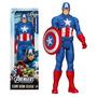 Muñeco Capitan America 30 Cm Articulado Avenger Titan Series