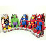 Muñeco Peluche Spiderman,hulk,thor,ironman,capitan America