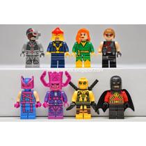Lego - Dc Vs. Marvel ¡set Completo De 8 Figuras!