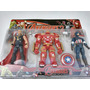 Muñecos Avengers 2 Vengadores Capitan America Thor Blisterx3