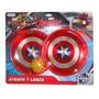 Atrapa Y Lanza Avengers Capitán América Marvel