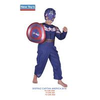 Disfraz Capitán América 2 Talle 1