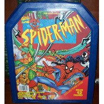 Marvel Toy Biz Spiderman Hombre Araña Collector Carring Case