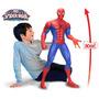 Muñeco Gigante Spiderman 80cm, Super Heroes, Hombre Araña