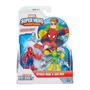 Figura Acción Hombre Araña Y Octopus 8cm Mejor Precio!!
