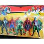 Muñecos Spider-man Hombre Araña Set X 5 De 16 Cm.