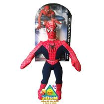 Muñeco Spiderman De Tela Grande Original Marvel Jiujim