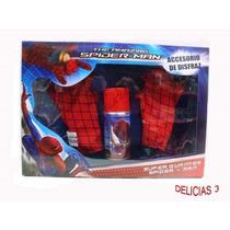 El Sorprendente Spider Man Super Guantes Lanza Telaraña