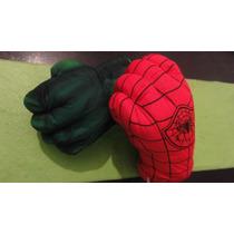 Hombre Araña Hulk Puño Guante Mano Superheroe