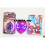 Muñeco Spiderman Hombre Araña + Mascara Con Luces + Walkie
