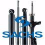 Kit 2 Amortiguadores Sachs Traseros Ford Escort / Orion