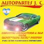 Resortes Neumáticos Renault R19 Tricuerpo Baul 94/01