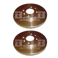 Kit 2 Discos De Freno Ventilados Chevrolet Corsa 2