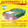 Resortes Neumáticos Gas Toyota Hilux. Sw4 Porton 05../ 610mm