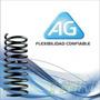 Kit X2 Espirales Traseros Corsa Classic - Reforzados - Ag