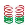 Espirales Rm Ford Escort L/ghía Trasero Progresivos Kitx2