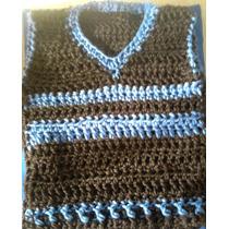Chalecos Al Crochet...varon Y Nena