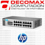 Switch Hp V1410-16 J9662a 16-port 10/100 Rackeable Factura-a
