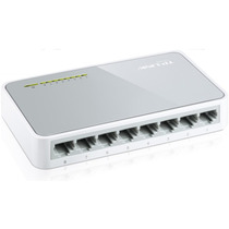 Switch 8 Ports 10/100 (tl-sf1008d) Tp-link - Zona Norte