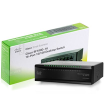 Switch Cisco Sf100d-16 16 Puertos 10/100 (ex Sd216t)