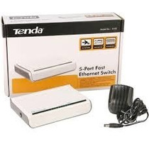 Switch Ethernet 5 Puertos Tenda 10/100m Plug & Play