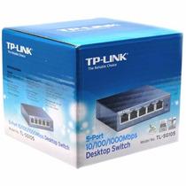 Switch Gigabit Tp Link Tl- Sg105 5 Puert 10/100/1000