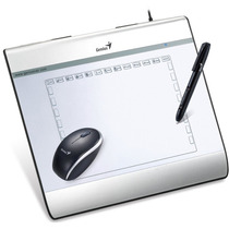 Tableta Digitalizadora Genius I608x Mouse Y Pen 6x8 Win Mac