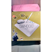 Un Lujo: Impecable Tableta Digitalizadora Bamboo Fun Small