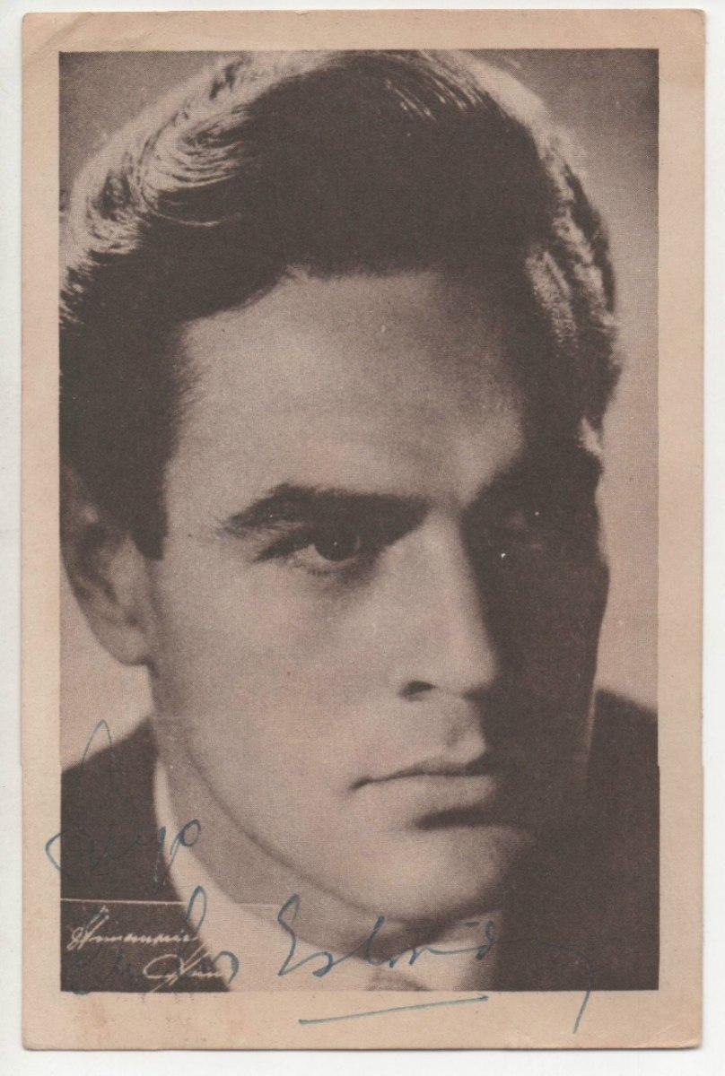 Demetrio Otero (Buenos Aires, 22 de octubre de 1922 - ibídem, 16 de noviembre de 2001), conocido artísticamente como Carlos Estrada, fue un actor argentino ... - tarjeta-autografo-carlos-estrada-anne-marie-heinrich-4104-MLA2709117803_052012-F