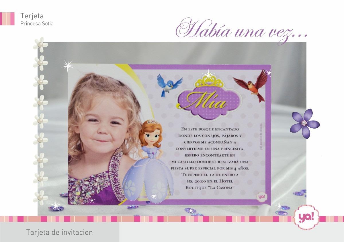 Tarjetas De La Princesa Sofía Imagui