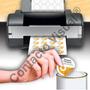 Etiquetas Circulares En Hojas Para Impresoras (100 Hojas)