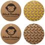 Etiquetas Ropa Hang Tags Colgantes Carton Madera Kraft