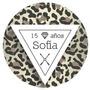 Etiquetas Personalizadas 15 Años (leopard)