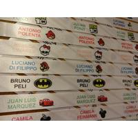 ¿100 Etiquetas Para Ropa Personalizadas Full Color!!!