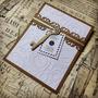 Tarjeta Invitación Sobre Boda X20u Vintage 15 Años Scrapbook