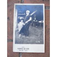 Foto-postal Montes De Oca Mar Del Plata 15 Febrero 1923