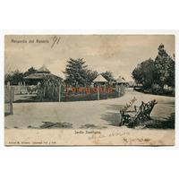 Postal Alvarez Jardin Zoologico Recuerdo Rosario De Santa Fe