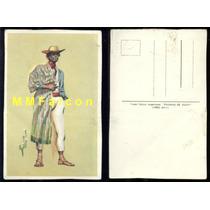 Pc Ilustración Color Trajes Tipicos Paisano De Jujuy 1890