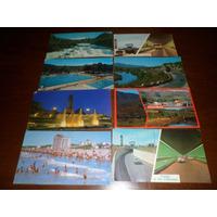 Lote 15 Postales Paisajes,rosario,tucuman,mar Del Plata !!