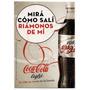 Postal De Propaganda De Coca.cola Ligth Año 2007