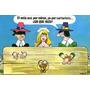 Antigua Tarjetas Serie Comica Coleccionable- 8 Tarjetas